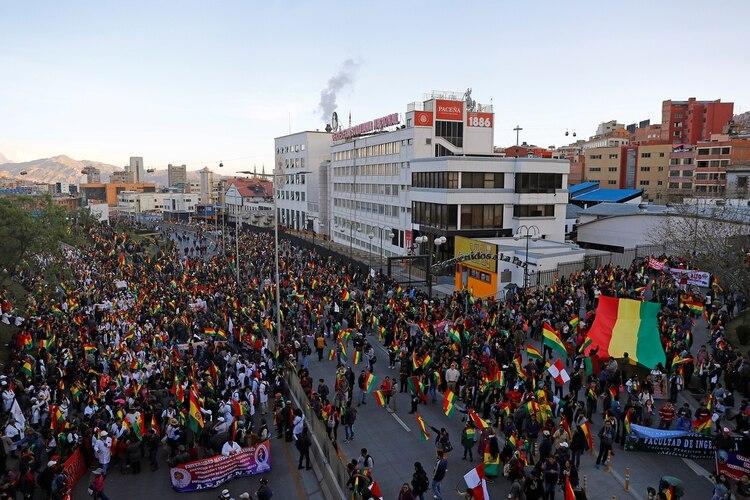 Manifestaciones en La Paz (Shutterstock)