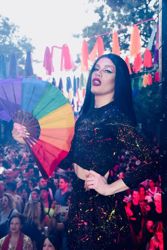 También se presentó un Festival de Arte Transformista