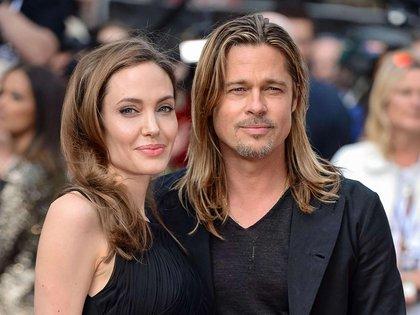 Su divorcio de Angelia Jolie lo arrastró a una de las épocas más oscuras y tristes de su vida