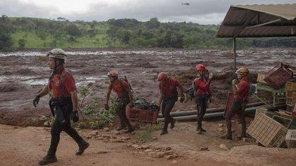 Los rescatistas siguen trabajando en busca de sobrevivientes (AFP)