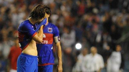 Tigre no disputó el segundo tiempo de la final de la Copa Sudamericana 2012 (Foto: NA)