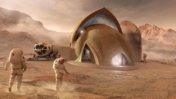 La innovadora estructura presentada ayuda a evitar contratiempos por el mal clima marciano