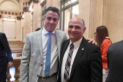 El juez federal Daniel Rafecas y el fiscal federal Carlos Rívolo.
