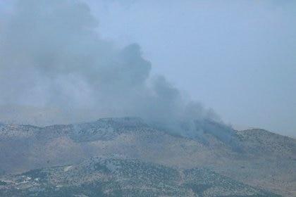 No se reportaron heridos entre las tropas israelíes (REUTERS/Karamallah Daher)