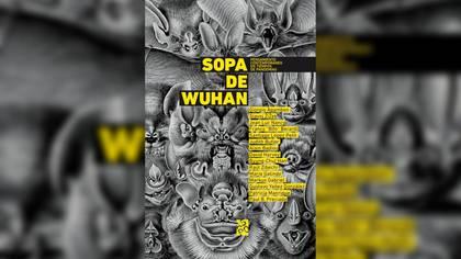 """Portada de """"Sopa de Wuhan: pensamiento contemporáneo en tiempos de pandemia"""""""
