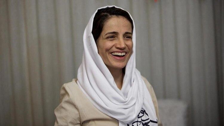 Nasrin Sotude, abogada y activista iraní por los Derechos Humanos