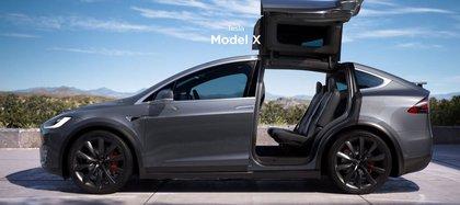 Este nuevo modelo será similar a la parte frontal del automóvil del vehículo X. (Foto: captura de pantalla del Modelo X de la página de Tesla)