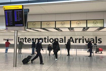 La UE desaconseja los viajes no esenciales (REUTERS/Matthew Childs)