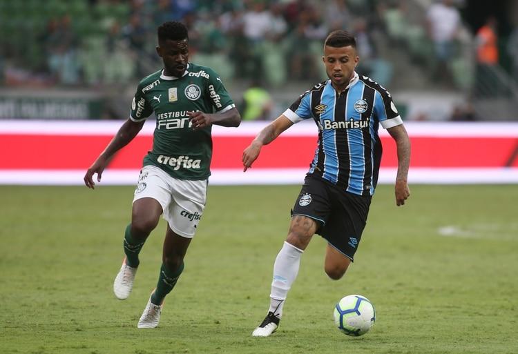 El Palmeiras no pudo con Gremio REUTERS/Rahel Patrasso