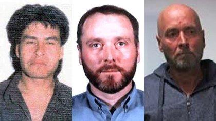 Los tres secuestradores de Cristian Schaerer: Rodolfo José Lohrman, José Horacio Maidana y Cristian Carro Córdoba
