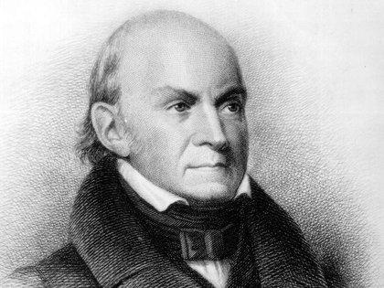 John Quincy Adams era Responsabile della Casa Bianca dal 1825 a 1829