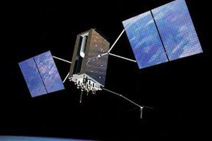 Simulación artística de la nave espacial OGO-1, que sirvió para estudiar el entorno magnético de la Tierra y cómo nuestro planeta interactúa con el Sol