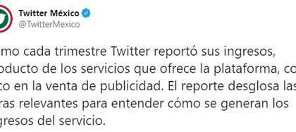 La compañía le respondió al presidente (Foto: Twitter / @TwitterMexico)