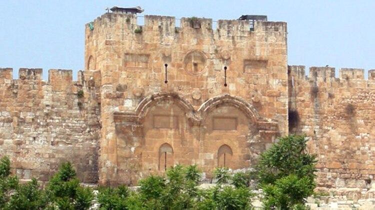 Puerta Dorada del Monte del Templo de Jerusalén. (Wilson44691/Wikimedia)