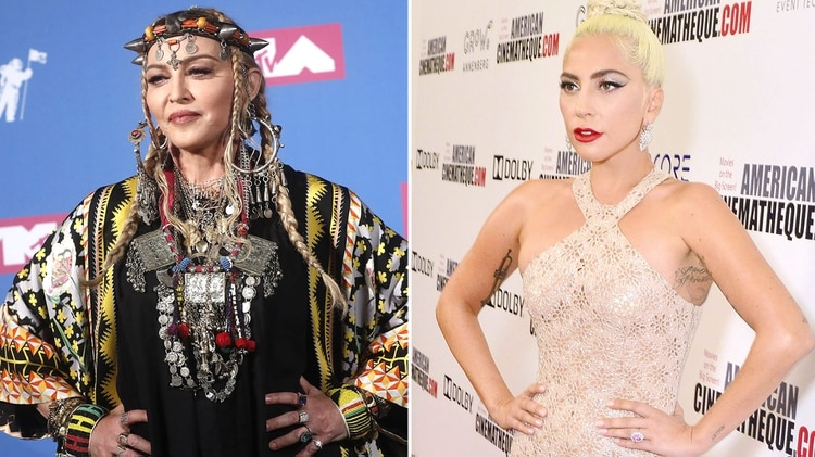 Crece nuevamente la pelea entre Madonna y Lady Gaga