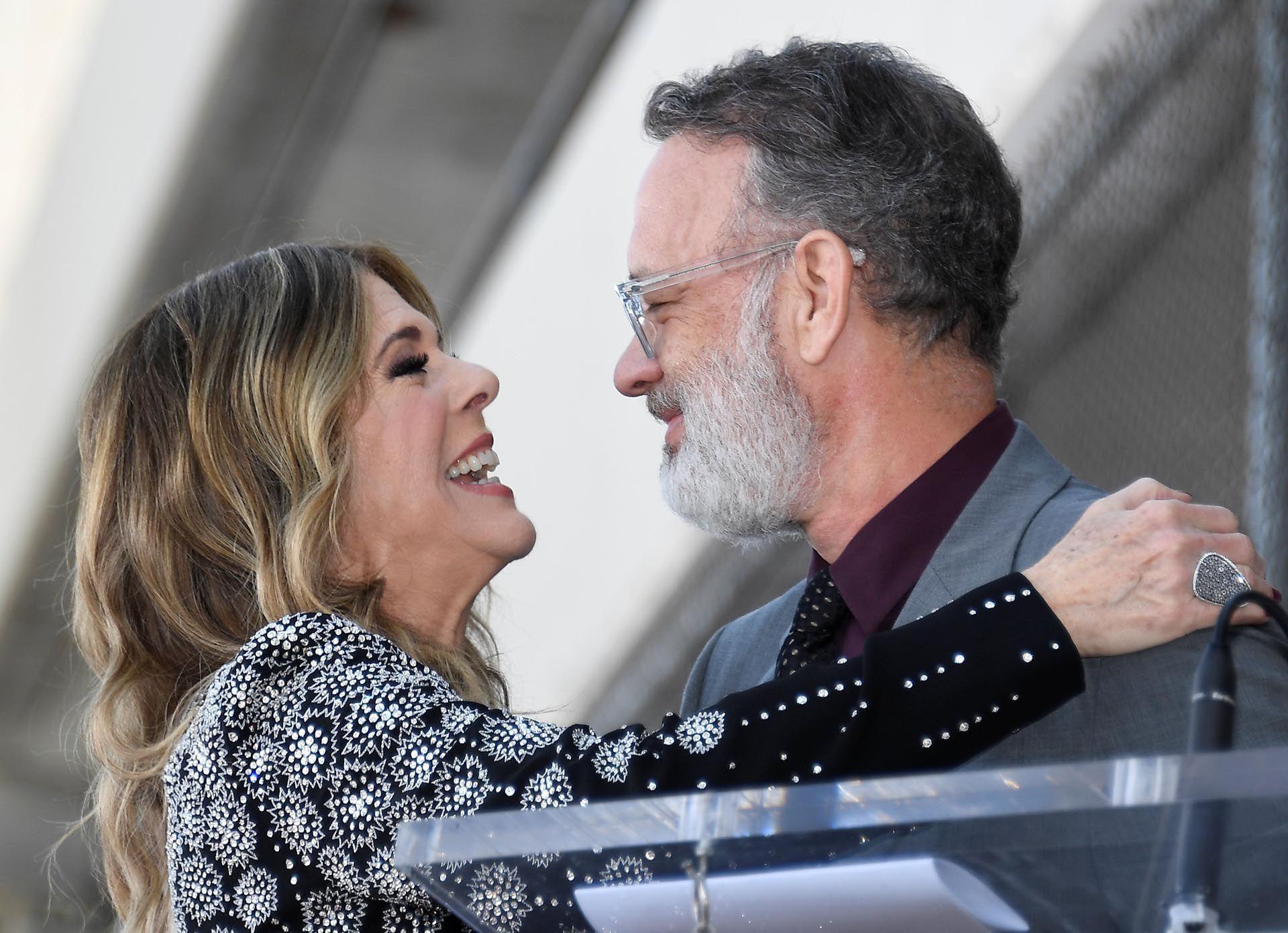 Rita Wilson y Tom Hanks, 32 años de amor  (REUTERS/Kevork Djansezian)