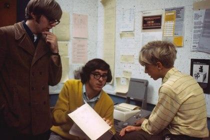 Bill Gates y Paul Allen dieron juntos sus primeros pasos en informática en la escuela (Microsoft)
