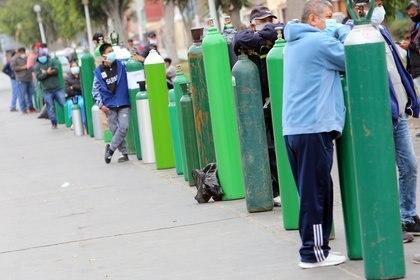 La venta de oxígeno, uno de los temas críticos en la pandemia en Perú (DPA)
