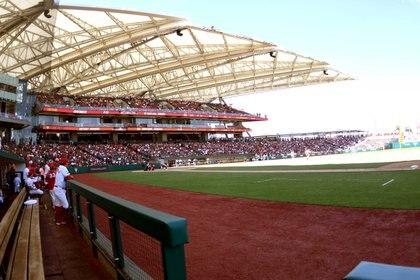 Ahora todo es diferente en la labor estadística, gracias al software Baseball Advanced Media (Foto: Enrique Gutiérrez/ Diablos Rojos)