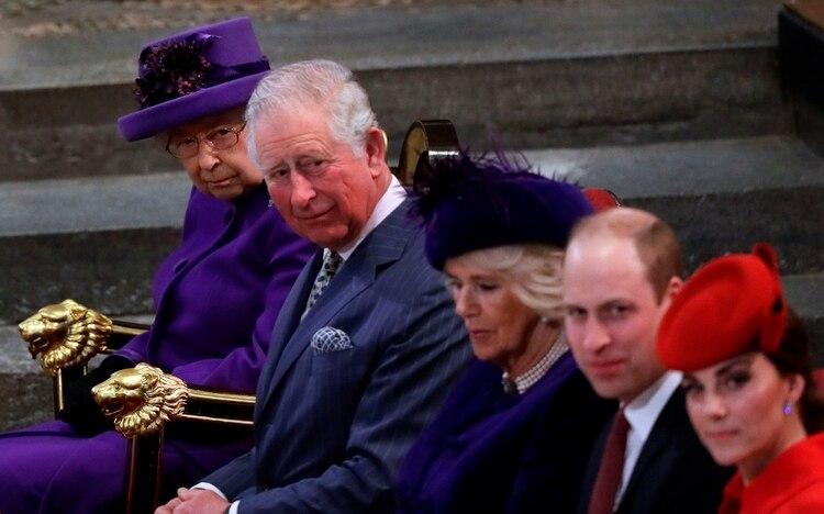 Camilla Parker Bowles no recibió el título de princesa de Gales por respeto a la memoria de Lady Di (AFP)