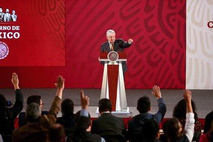 El presidente de México, Andrés Manuel López Obrador, en conferencia de prensa,habló delas cartas que se enviaron al re de España, Felipe VI, y al Papa Francisco (Foto: Cortesía Presidencia)