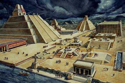 Tenochtitlan  Foto: Wiki Commons