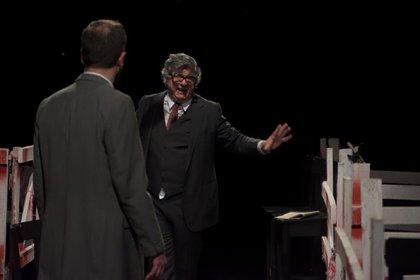 La obra es protagonizada por Guillermo Aragones,Juan Pablo Galimberti y Cristian Majolo, entre otros(Foto – Marcelo Solís)