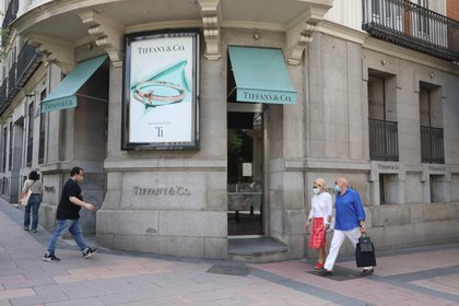Varias de las tiendas de Tiffany en el mundo estuvieron cerradas por la pandemia del coronavirus (Europa Press)