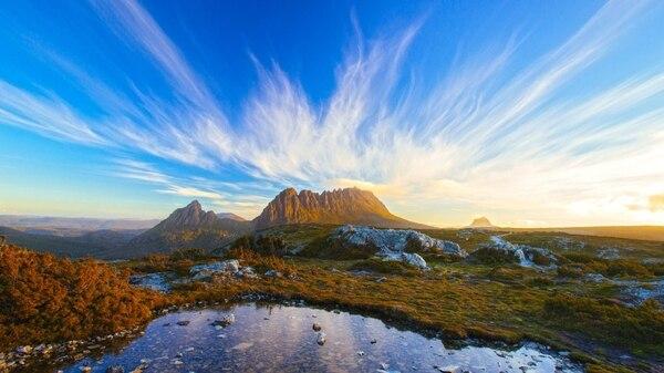 El remoto estado australiano de Tasmania brilla en el mes de febrero (istock)