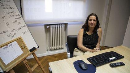 Marina Dal Poggetto, fundadora del estudio Eco Go (Lihue Althabe)