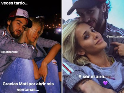 Es la historia de un amor… incipiente: Julieta Prandi y Matias Zanuzzi
