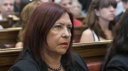 La jueza de la Cámara Federal de Casación Penal Ana María Figueroa (NA)