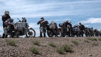 Los motoqueros visitaron Mar del Plata y Cañuelas. Además, recorrerán dos de las villas más grandes de Buenos Aires
