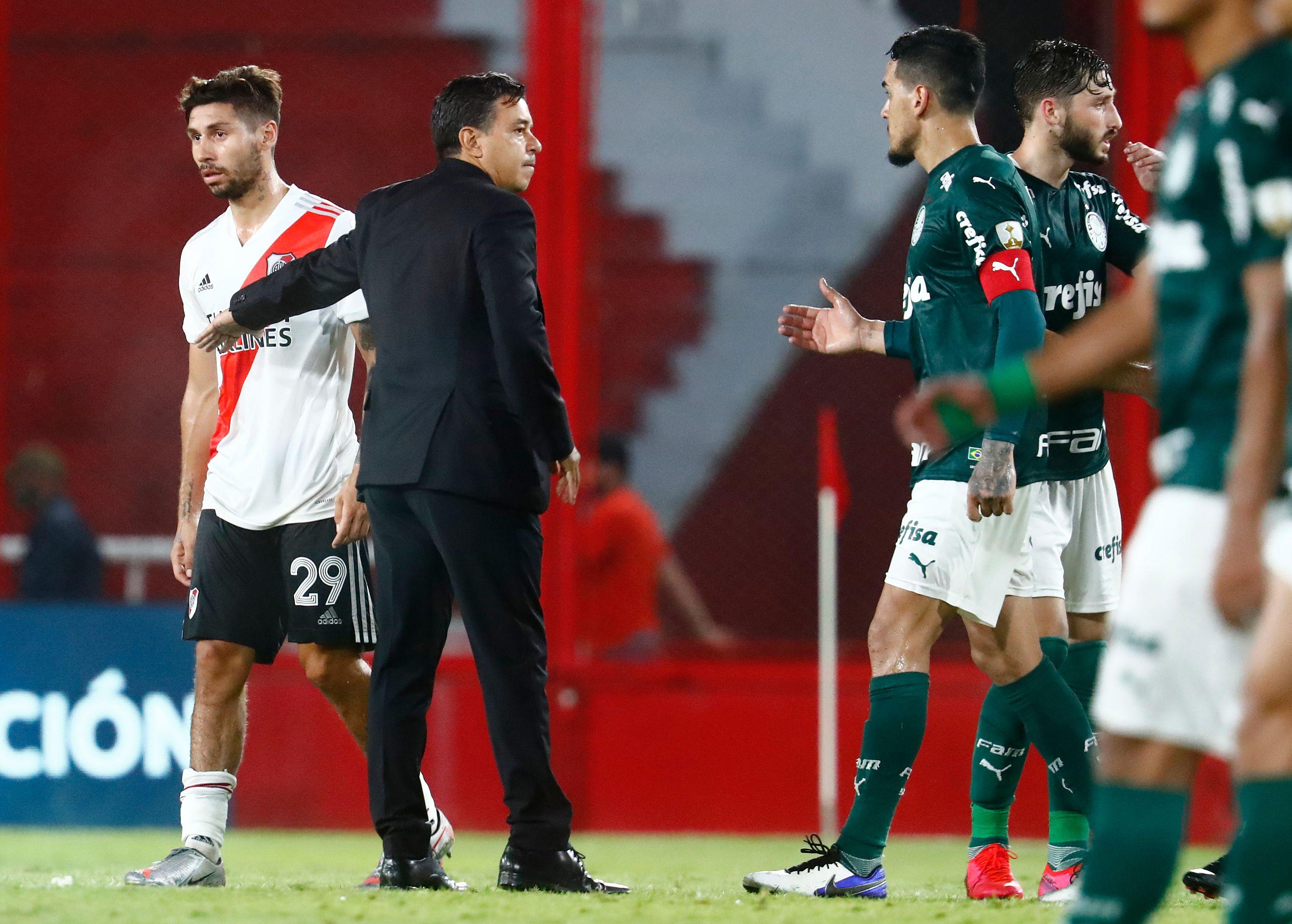Gonzalo Montiel, pieza clave para Marcelo Gallardo, seguiría en River (REUTERS/Marcos Brindicci)