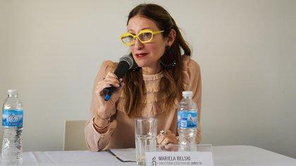 Mariela Belski, de Amnistía Internacional Argentina, que reclama el retorno deGómez Cueva