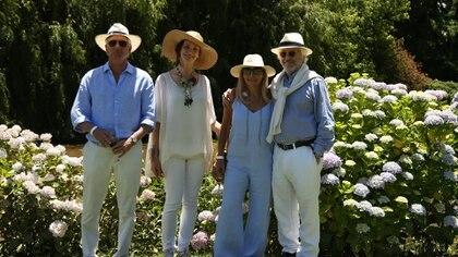 Alejandro Saguier, Laura San Martín, Daniela Marcuzzi y Diego Félix