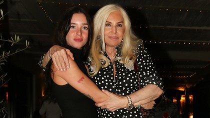 Susana Giménez y su nieta, Lucía Celasco