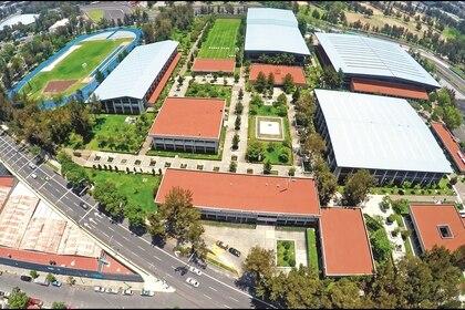 Vista área del Centro Nacional de Desarrollo de Talentos Deportivos y Alto Rendimiento, en la Ciudad de México (Foto: CNAR)