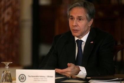 Antony Blinken, secretario de Estado norteamericano (REUTERS/Leah Millis)