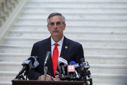 El secretario de Estado de Georgia, Brad Raffensperger (Reuters)