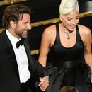 HOLLYWOOD, CALIFORNIA - FEBRUARY 24: (L-R) Bradley Cooper and Lady Gaga perform onstage during the 91st Annual Academy Awards at Dolby Theatre on February 24, 2019 in Hollywood, California. Kevin Winter/Getty Images/AFP