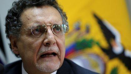La Justicia ecuatoriana dictó la prisión preventiva al contralor del Estado por un caso de corrupción