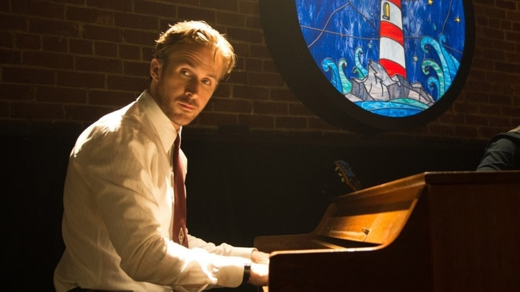"""Ryan Gosling es uno de los actores más cotizados del cine. Aquí en una escena de """"La La Land"""""""
