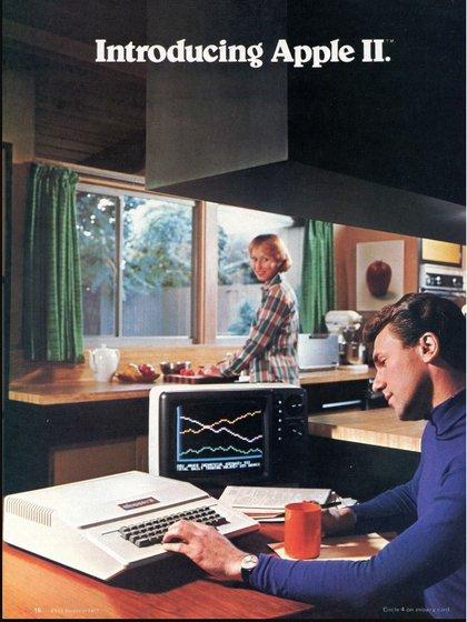 La Apple II fue la primera serie de computadoras personales de producción masiva que se vendieron entre el 5 de junio de 1977 y mediados de los años 80.