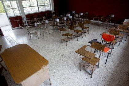Los menores aún no volverán a las aulas. (Foto: Cuartoscuro)