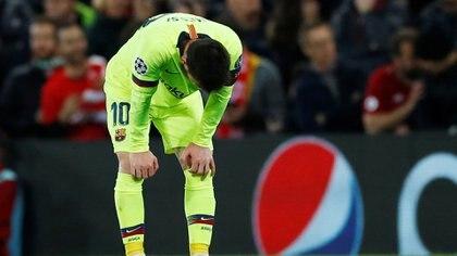 El Barcelona cayó en semifinales de Champions LEague contra el Liverpool (REUTERS)