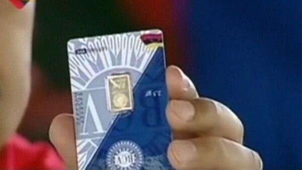 """Este es el """"lingotico"""" que compró Maduro"""