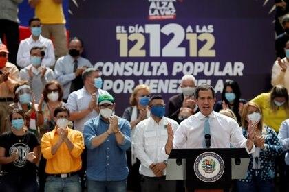Leopoldo López destacó la labor de Juan Guaidó, y remarcó que se necesita unidad para hacer frente a la dictadura de Nicolás Maduro (REUTERS/Manaure Quintero)