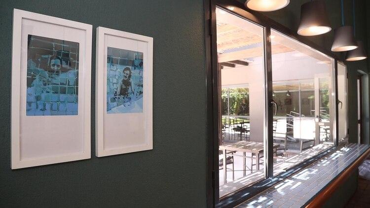 El interior del hotel, donde se recuerda al músico (Marcelo Ruiz)
