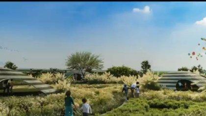 Los objetivos principales están recuperar el volumen original del lago (903 hectáreas), recuperar la vegetación halófila y reforestar la zona con al menos 130 especies distintas que vivirán en una zona equivalente a 20 veces el Bosque de Chapultepec. (Foto: Captura de pantalla)